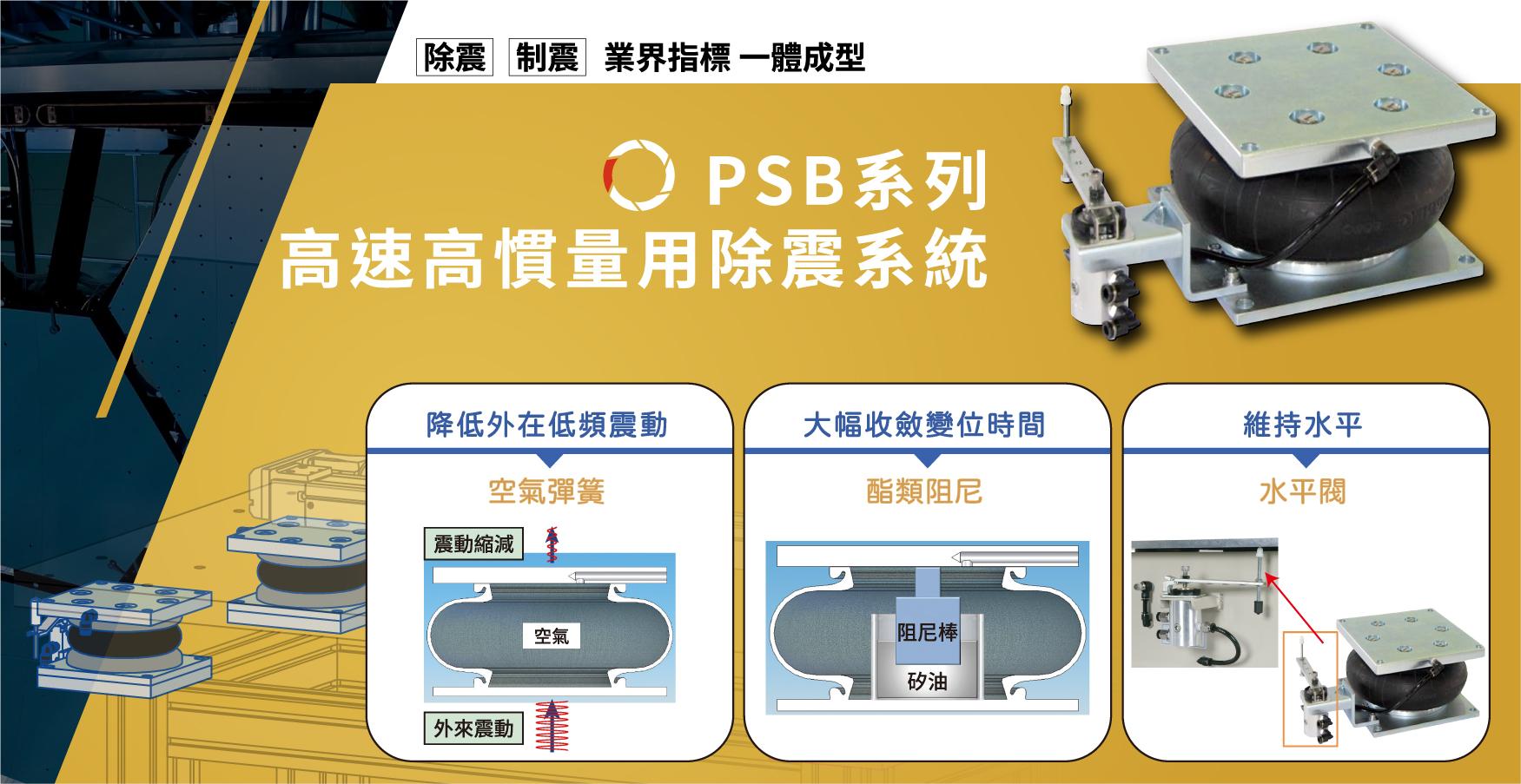 PSB被動式除震系統