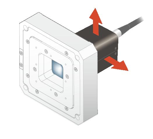THK PRECISION中空式直動滑台應用:CCD像素交錯(像素偏移)