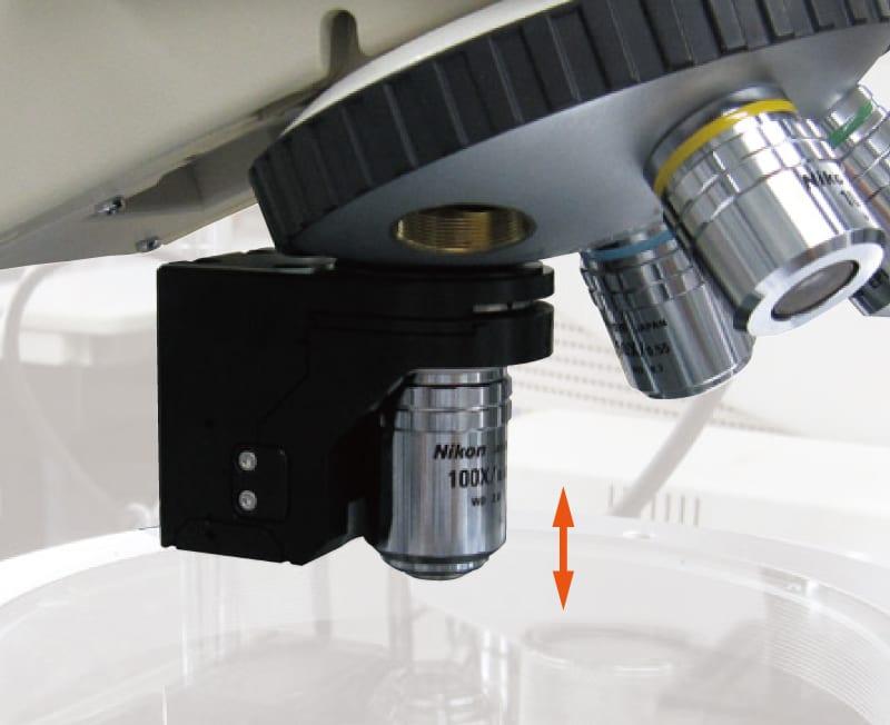 THK PRECISION對物鏡調焦專用滑台應用:高速、高精度對焦