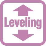 leveling高度調整