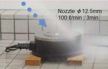 超大扭矩伺服馬達 PNZ系列暴噴流試驗