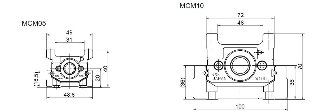 NSK 定位軸承滑台 MCM系列 豐富的產品樣式