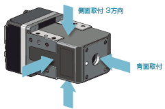 東方馬達 Oriental motor _電動夾爪 _ EH系列 _ 小型化設計 有多安裝面可選擇